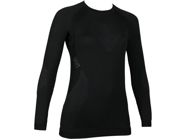 UYN Fusyon UW LS Shirt Damen black/anthracite/anthracite